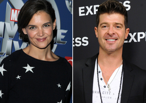 Is Katie Holmes Dating Robin Thicke?