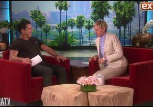 Mario Lopez Hangs with Ellen DeGeneres as She Previews Her Show's New Season