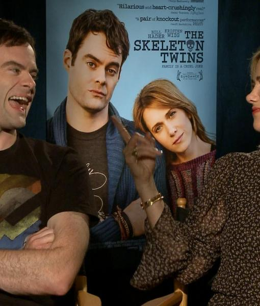 'SNL' Alums Kristen Wiig and Bill Hader on Their New Movie 'The Skeleton Twins'