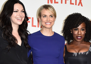 Laura Prepon, Taylor Schilling, Uzo Aduba and Kate Mulgrew attended Netflix's…
