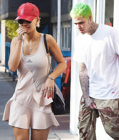 Is Rita Ora Dating This Guy with Green Hair?
