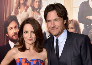 "Tina Fey and Jason Bateman hit the red carpet at the ""This Is Where I Leave…"