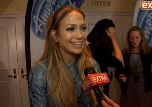 Jennifer Lopez Rocks Super Short Snakeskin Dress to 'Idol' Auditions