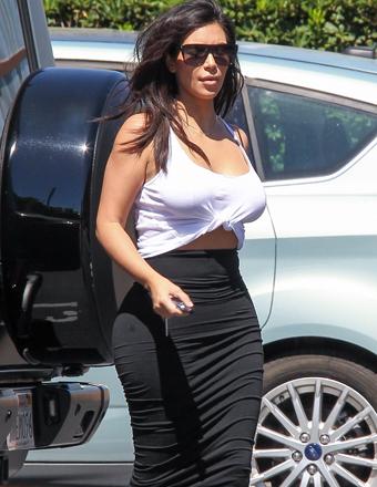 Nude Kim Kardashian Photos Reportedly Leaked Online