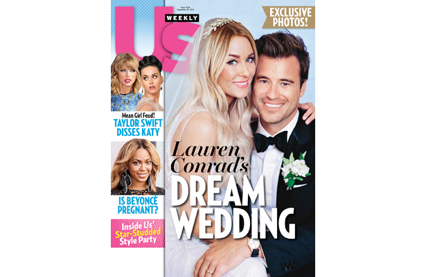 First Pic! See Lauren Conrad's Wedding Dress