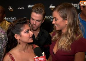 'DWTS' Week 2: Bethany Mota and Derek Hough Have Taylor Swift's Support