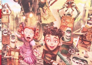 Elle Fanning, Ben Kingsley, and More at the 'Boxtrolls' Premiere