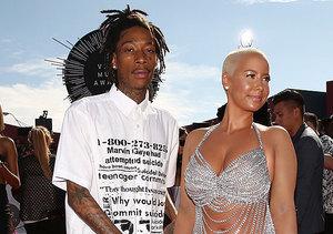 Dunzo! Amber Rose Calling It Quits with Husband Wiz Khalifa