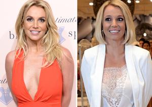 Britney Spears Debuts Cute New Bob Haircut