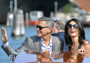 George Clooney and Amal Alamuddin Are Married!