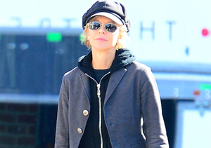 Meg Ryan took a stroll through the Meatpacking District in NYC.