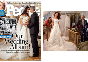 George Clooney and Amal Alamuddin's Wedding Photos! See Her Dress