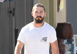 """Shia LaBeouf is staying in shape. The """"Fury"""" star was again spotted at a gym in…"""