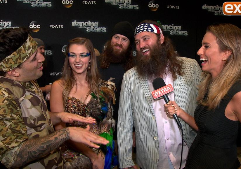 'DWTS' Week 4: 'Duck Dynasty' Invades, The Carlton Returns, and Betsey Johnson…