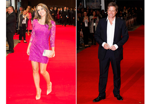 See Elizabeth Hurley's Reunion with Ex Hugh Grant!