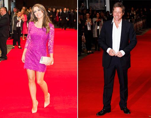 See Elizabeth Hurley's Reunion with Ex Hugh Grant!