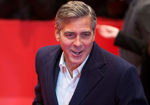 George Clooney Crashes New York Comic-Con!