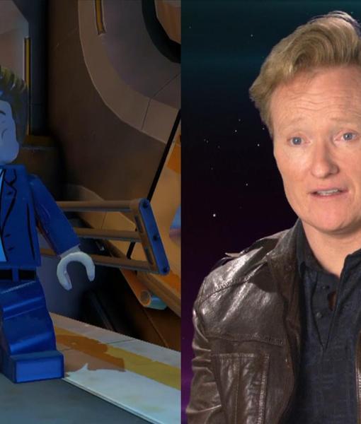 Go Behind the Scenes of 'LEGO Batman 3' with Conan O'Brien