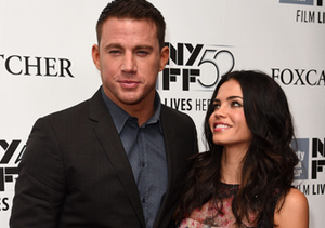 """Channing Tatum and Jenna Dewan attended the """"Foxcatcher"""" premiere at the New…"""