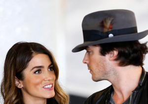 Nikki Reed and Ian Somerhalder hopped a flight from L.A. to Atlanta... with her…