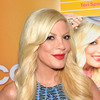 Tori and Candy Spelling at a Birthday Party… with Dean and His Ex-Wife