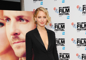 Jennifer Lawrence attended the BFI London Film Festival premiere of her film…