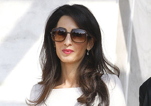 New Pics! Amal Alamuddin Back to Work, Changes Last Name to Clooney