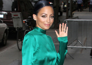 """Nicole Richie arrived to """"The View"""" in NYC."""