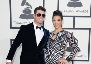 Extra Scoop: Does Paula Patton Trust Robin Thicke with Their Son?