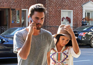 Kourtney Kardashian and boyfriend Scott Disick were seen visiting a doctor's…