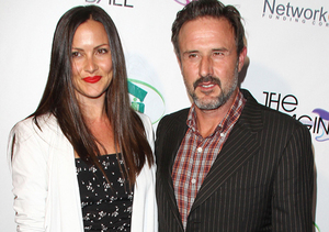 Wild Fight! David Arquette and Fiancée Caught on Camera Arguing in the Street