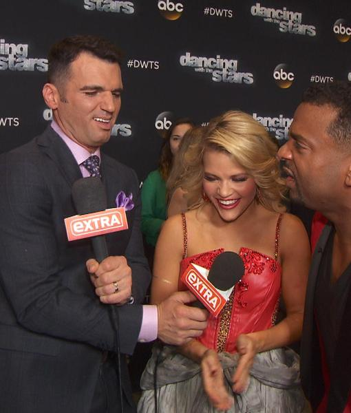 'DWTS' Week 6: Leah Remini and Tony Dovolani Go Wild as Our Correspondents