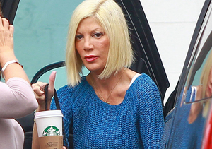Tori Spelling Rushed to Hospital, Placed in Quarantine