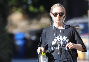Amanda Seyfried and dog Finn were spotted hiking in West Hollywood.