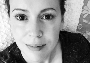 Alyssa Milano Shares Tender Breastfeeding Photo
