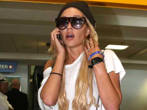 Amanda Bynes Released from Psych Hold, Spotted Alone on Sunset Blvd.