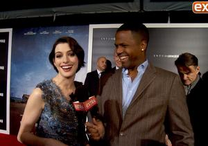 Anne Hathaway, Matthew McConaughey, and Jessica Chastain at 'Interstellar' NY…
