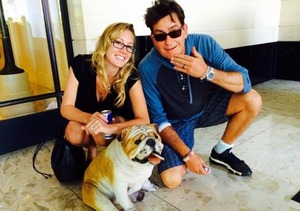 Charlie Sheen's Ex-Fiancée Hospitalized After Reported Overdose