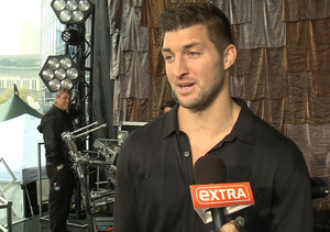 'Good Morning America's' Tim Tebow and Ginger Zee Get Ready for CMA Awards
