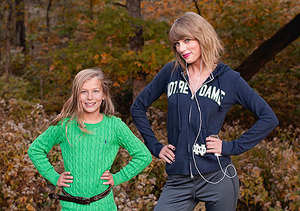 Best Photobomb Ever! Taylor Swift Gives Fan Special Treat During Photo Shoot