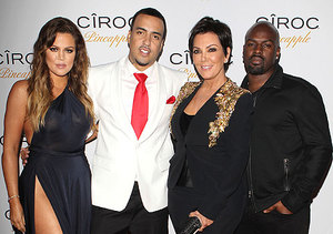 Kris Jenner Debuts BF at French Montana's Birthday Party!