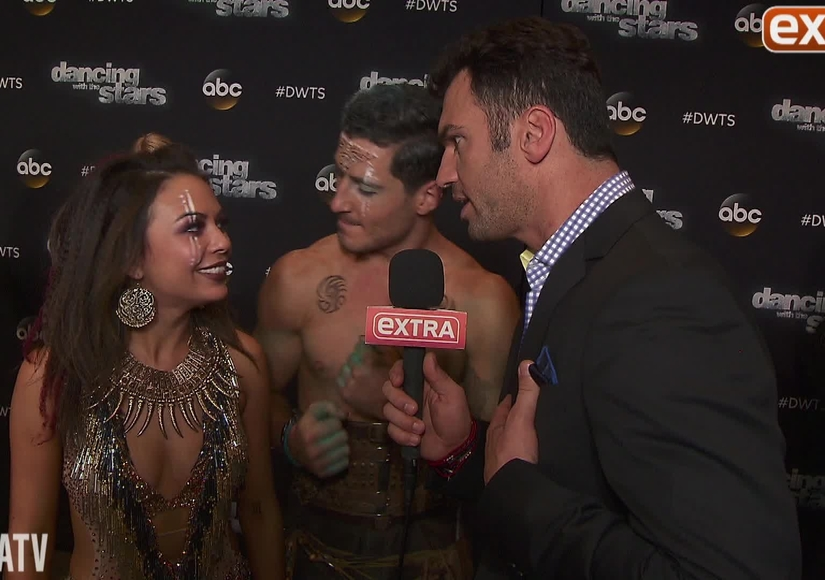 'DWTS' Week 9: Janel and Val on Their Kiss, More Perfect Scores, and Lea…