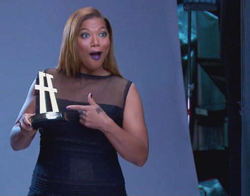 Watch! Queen Latifah Gets Ready to Host Hollywood Film Awards