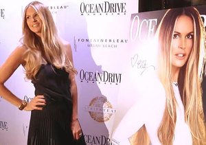 Elle Macpherson Shares Beauty Secrets at Ocean Drive Magazine Cover Party