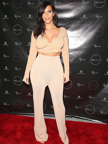 Kim K Shows Major Kleavage at First Appearance Since Her Booty Broke the Internet