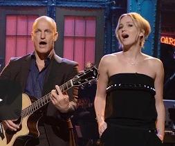 'Hunger Games' Cast Make a Surprise Visit to 'SNL'
