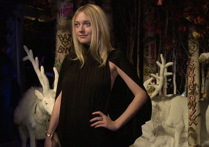 Dakota Fanning, Baz Lurhmann and Others Party at Holiday Bash for Barneys