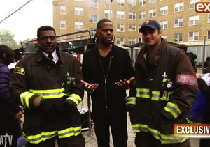 Hotties, Cook-Offs and More on the Set of 'Chicago Fire'!