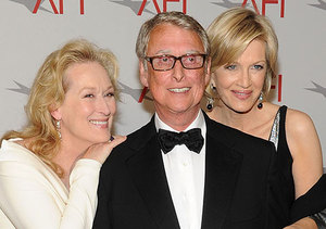 Mike Nichols' Death: Grieving Diane Sawyer Steps Out; Celebs Pay Respects