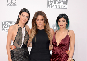 AMAs 2014: Kylie and Kendall Jenner, Khloé K Show Off the Legs!
